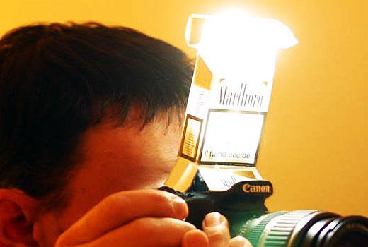 Camera Flash Diffuser
