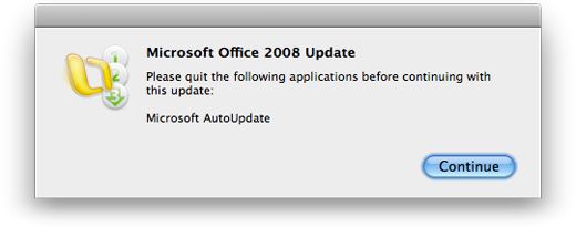 Seems AutoUpdate is not the program it is doing the updating