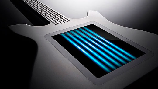 kitara, the touchscreen guitar. // dullneon.com