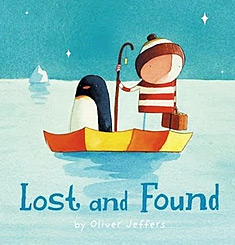 The cover of Lost and Found, by Oliver Jeffers
