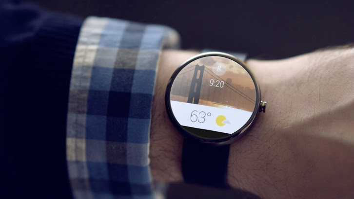 Android Wear on the wrist