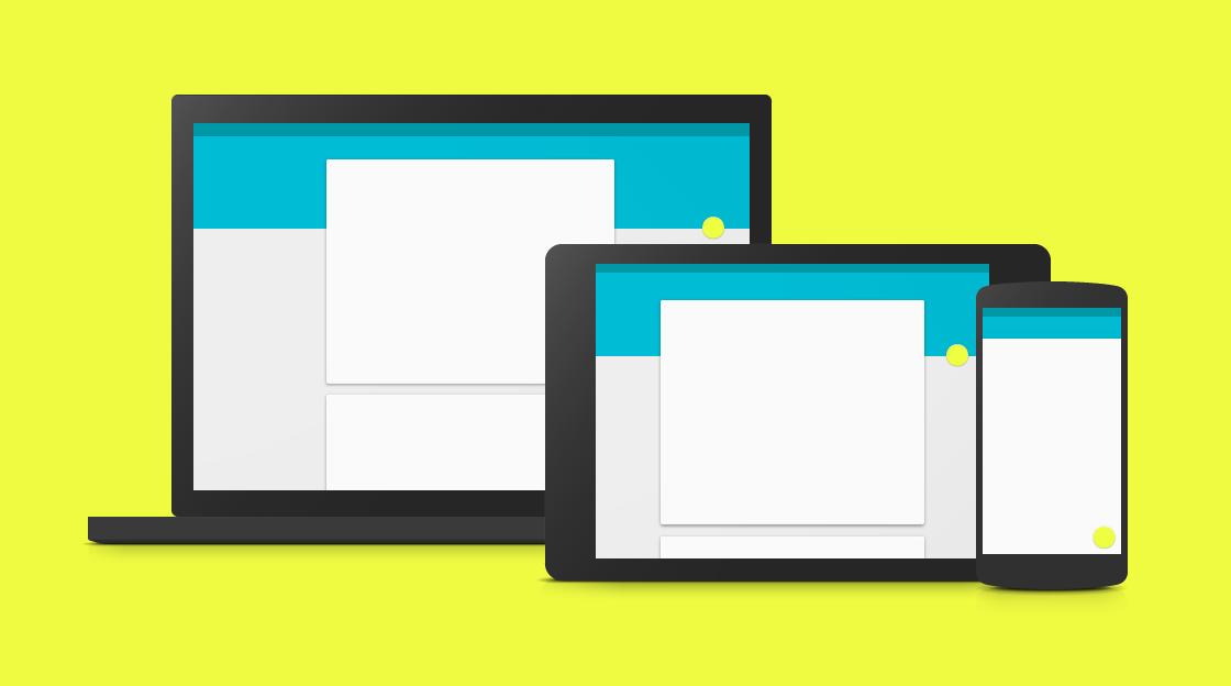 Google's guidebook on material design