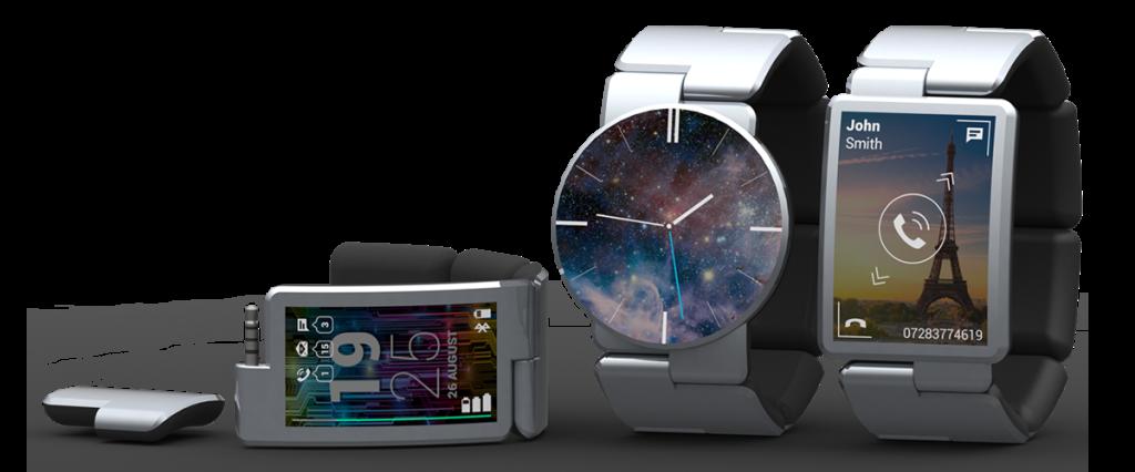 A modular watch